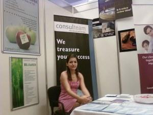 Roxana Feregan (Consulteam) at Business Edu 2009